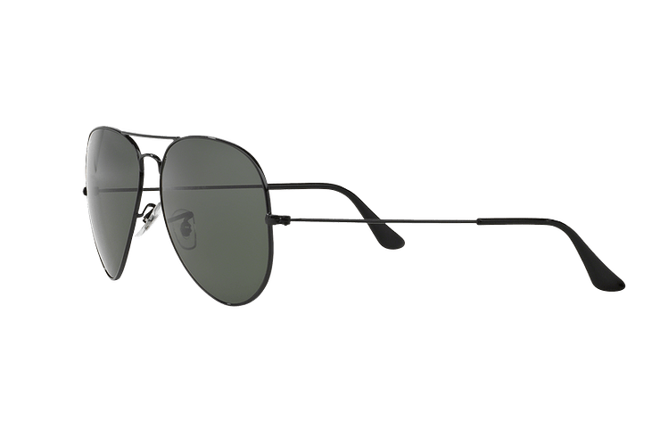 Ray-Ban Aviador Black lente Crystal Green cod. RB3026 L2821 62 - Image 2