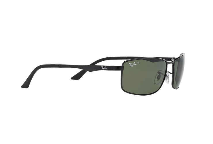 Ray Ban Active RB3498 Black lente Green Polarized cod. RB3498 002/9A 61 - Image 10