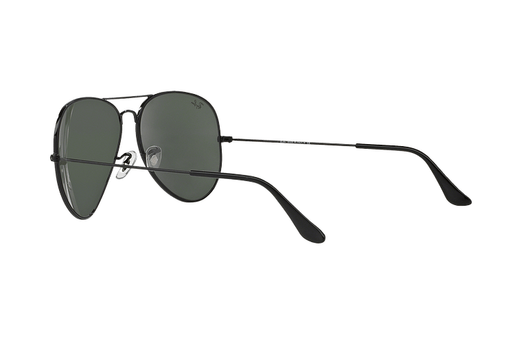 Ray-Ban Aviador Black lente Crystal Green cod. RB3026 L2821 62 - Image 4