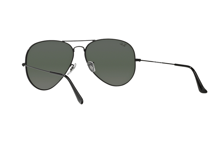 Ray-Ban Aviador Black lente Crystal Green cod. RB3026 L2821 62 - Image 5