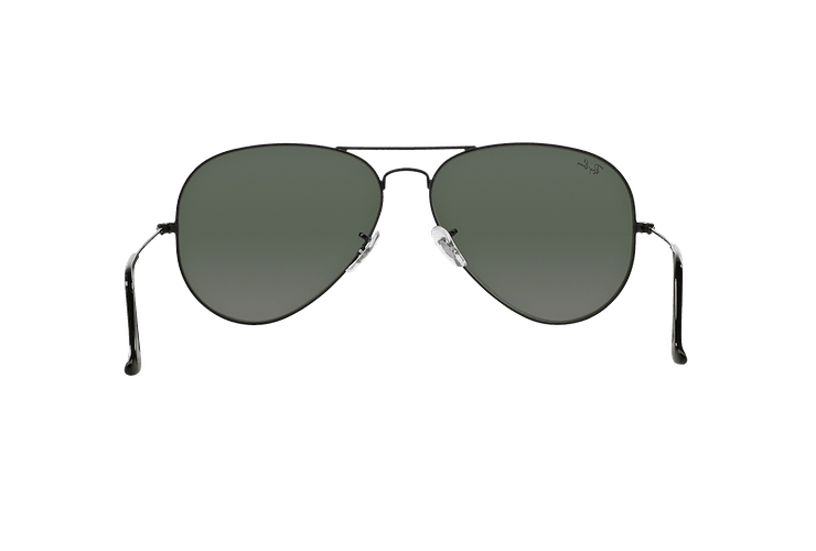Ray-Ban Aviador Black lente Crystal Green cod. RB3026 L2821 62 - Image 6