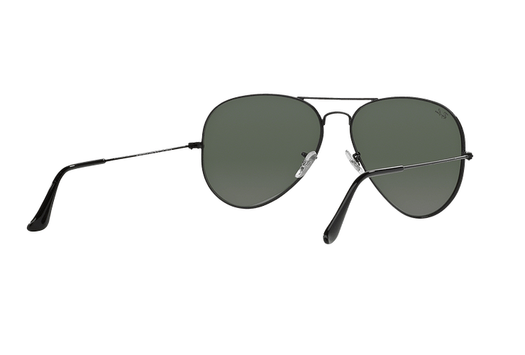Ray-Ban Aviador Black lente Crystal Green cod. RB3026 L2821 62 - Image 7