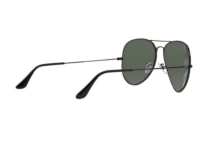 Ray-Ban Aviador Black lente Crystal Green cod. RB3026 L2821 62 - Image 8