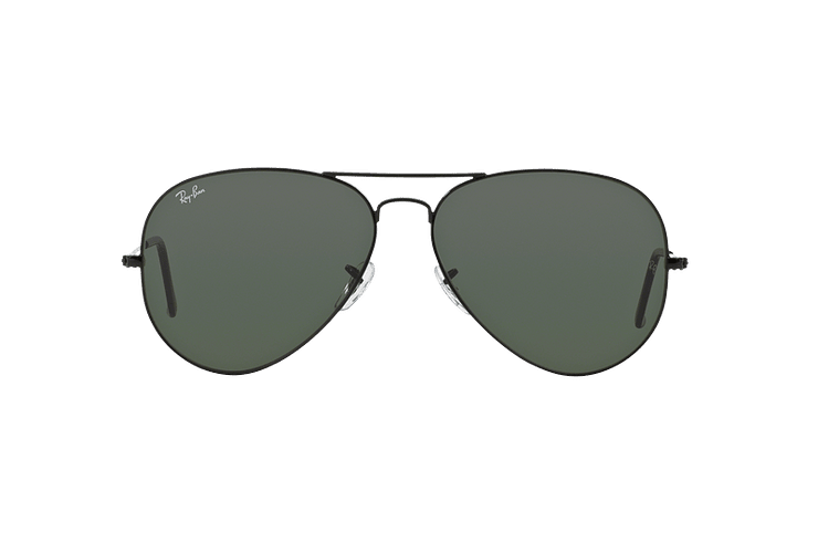 Ray-Ban Aviador Black lente Crystal Green cod. RB3026 L2821 62 - Image 12