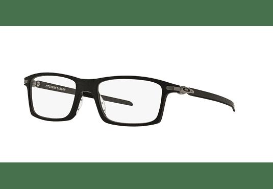 Armazón óptico Oakley Pitchman Carbon Satin Black cod. OX8092-0153