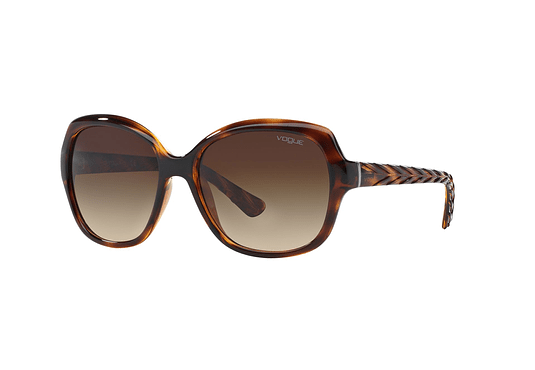 Vogue VO2871S Dark Havana lente Brown Gradient cod. VO2871S 150813 56