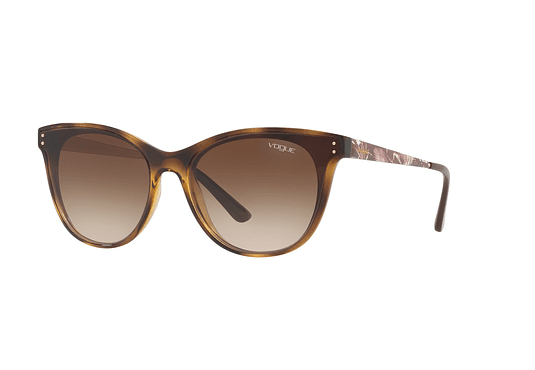 Vogue Tropi-chic VO5205S Dark Havana lente Brown Gradient cod. VO5205S W65613 62