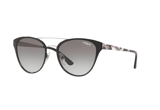 Vogue Tropi-chic VO4078S Black/Silver lente Grey Gradient cod. VO4078S 352/11 53