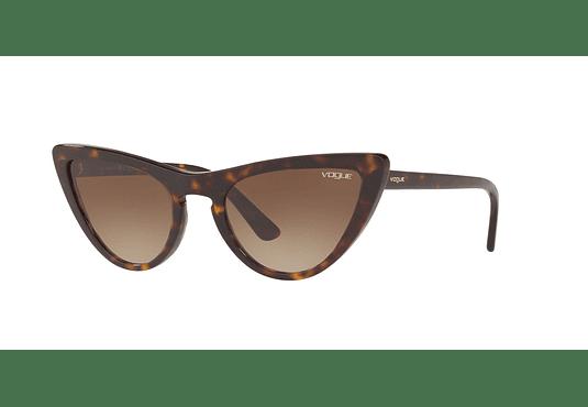 Vogue VO5211S ed. especial Gigi Hadid Dark Havana lente Brown Gradient cod. VO5211S W65613 54