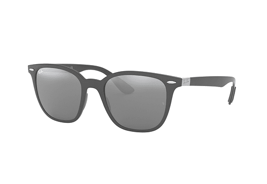 Ray Ban RB4297 Matte dark grey lente Silver Gradient Mirror cod. RB4297 633288 51