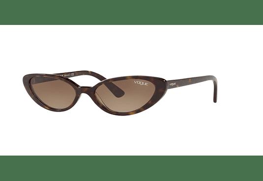 Vogue VO5237S ed. especial Gigi Hadid Dark Havana lente Brown Gradient cod. VO5237S W65613 52