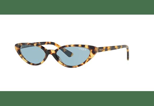 Vogue VO5237S ed. especial Gigi Hadid Brown Yellow Tortoise lente Blue cod. VO5237S 260580 52