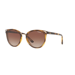 Vogue VO5230S Metallic Beat Dark Havana lente Brown Gradient cod. VO5230S W65613 54