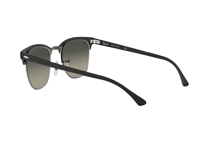 0a6a225d1e9 Ray Ban Clubmaster Metal Silve Matte Black lente Dark Grey Gradient cod. RB3716  911871