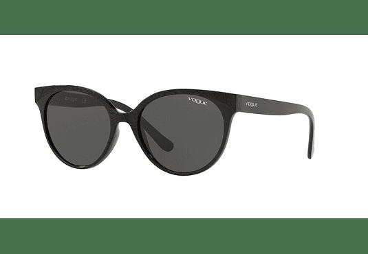 Vogue Glam Cut VO5246S Black/Serigraphy lente Grey cod. VO5246S W44/87 53