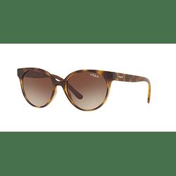 Vogue Glam Cut VO5246S Dark Havana lente Brown Gradient cod. VO5246S W65613 53