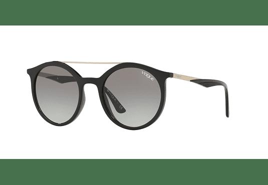 Vogue Rainbow VO5242S Black lente Grey Gradient cod. VO5242S W44/11 50