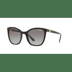 Vogue Drops VO5243SB Black lente Grey Gradient cod. VO5243SB W44/11 53
