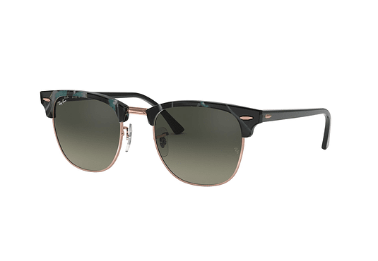 Ray Ban Clubmaster Spotted Grey/Green lente Grey Gradient cod. RB3016 125571 49