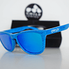 Oakley Frogskins Ed. Especial Fingerprint Sky Blue lente Sapphire Iridium cod. OO9013-55 - Image 3