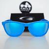 Oakley Frogskins Ed. Especial Fingerprint Sky Blue lente Sapphire Iridium cod. OO9013-55 - Image 5