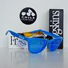 Oakley Frogskins Ed. Especial Fingerprint Sky Blue lente Sapphire Iridium cod. OO9013-55 - Image 2