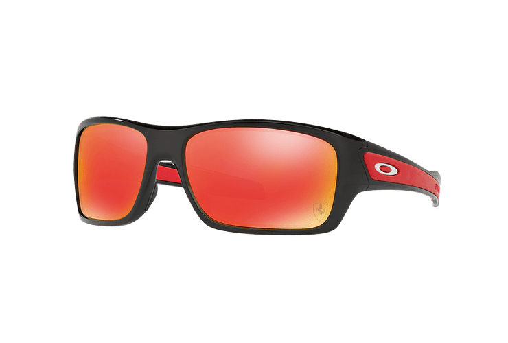 Oakley Turbine Ed. Especial Ferrari Polished Black lente Ruby Iridium cod. OO9263-3963 - Image 1