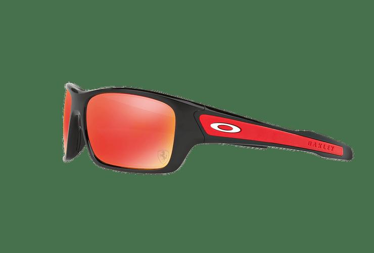Oakley Turbine Ed. Especial Ferrari Polished Black lente Ruby Iridium cod. OO9263-3963 - Image 2