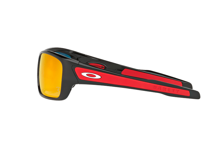 Oakley Turbine Ed. Especial Ferrari Polished Black lente Ruby Iridium cod. OO9263-3963 - Image 3