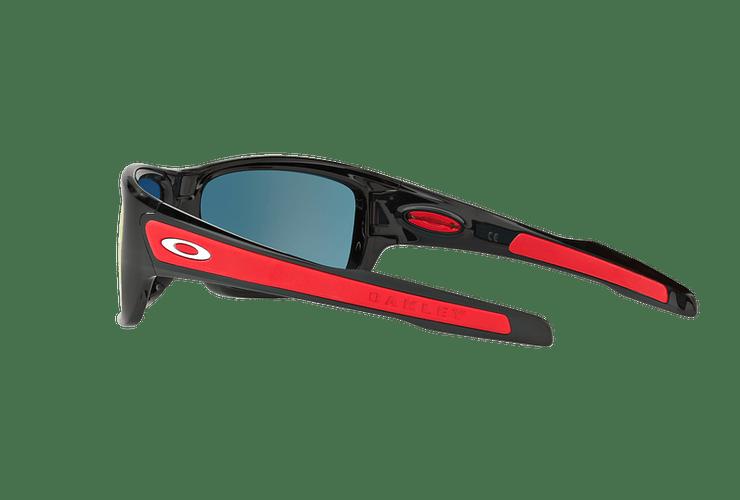 Oakley Turbine Ed. Especial Ferrari Polished Black lente Ruby Iridium cod. OO9263-3963 - Image 4