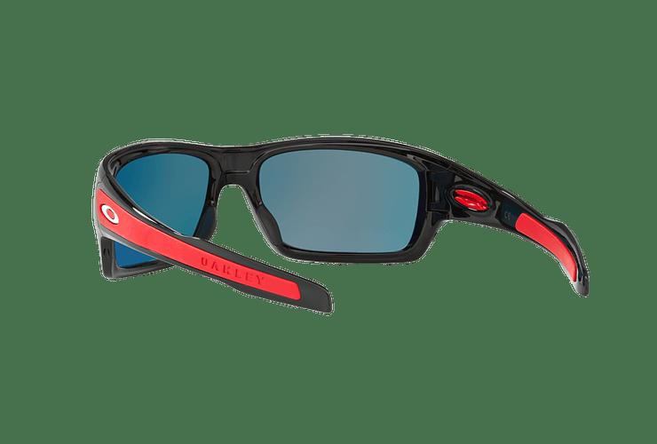 Oakley Turbine Ed. Especial Ferrari Polished Black lente Ruby Iridium cod. OO9263-3963 - Image 5