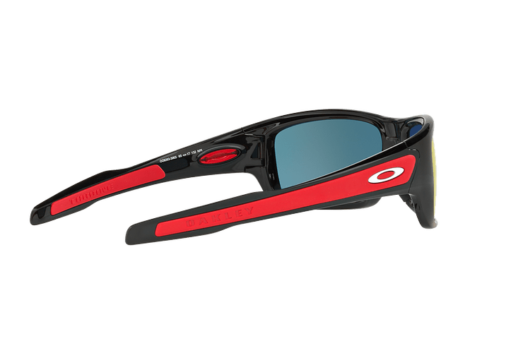 Oakley Turbine Ed. Especial Ferrari Polished Black lente Ruby Iridium cod. OO9263-3963 - Image 8