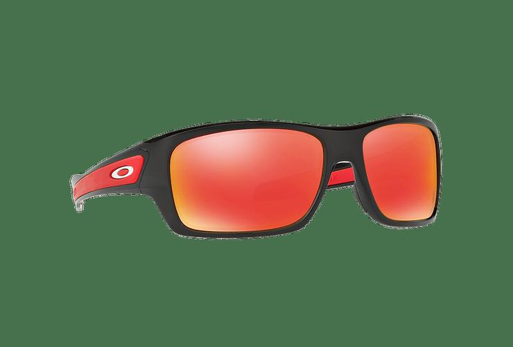 Oakley Turbine Ed. Especial Ferrari Polished Black lente Ruby Iridium cod. OO9263-3963 - Image 11