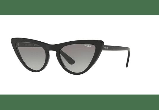 Vogue VO5211S ed. especial Gigi Hadid Black lente Grey Gradient cod. VO5211S W44/11 54