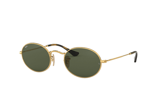 Ray Ban Oval Gold lente Green cod. RB3547N 001 54