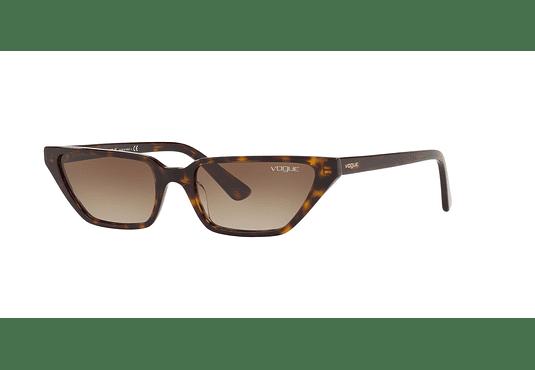Vogue VO5235S ed. especial Gigi Hadid Dark Havana lente Brown Gradient cod. VO5235S W65613 53
