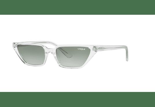 Vogue VO5235S ed. especial Gigi Hadid Transparent lente Green Gradient cod. VO5235S W7458E 53