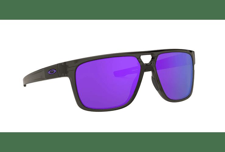 c557bfc861 Oakley Crossrange Patch Gray Smoke lente Violet Iridium c...