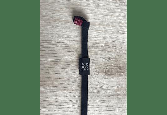 Correa de cuero negro (Strap) para lentes