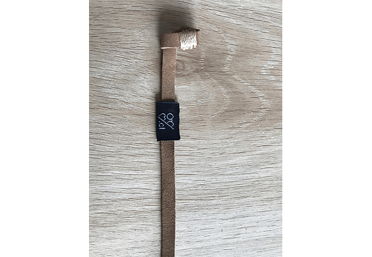 Correa de cuero Café claro (Strap) para lentes
