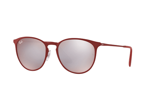 Ray Ban Erika Metal Robber Bordo' lente Flash Grey cod. RB3539 9023B5 54