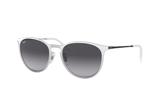 Ray Ban Erika Metal Brusched Silver lente Dark Grey Gradient cod. RB3539 90788G 54