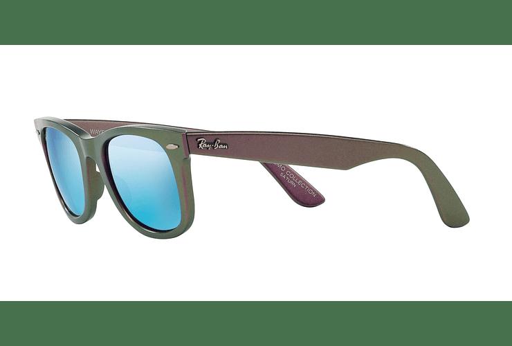 Ray Ban Wayfarer Metallic Violet lente Blue Mirror cod. RB2140 611217 50 - Image 2