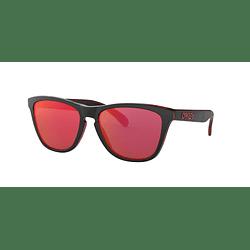 Oakley Frogskins Eclipse Red lente Torch Iridium cod. OO9013-A755