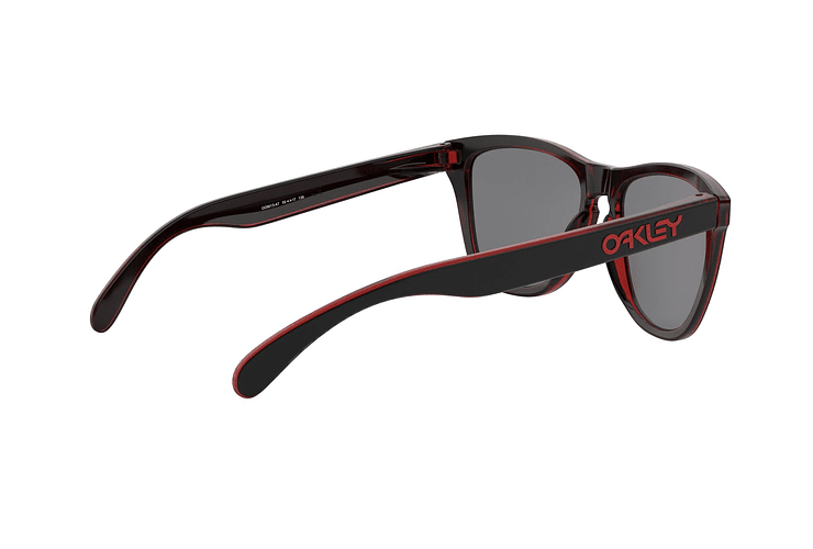 Oakley Frogskins Eclipse Red lente Torch Iridium cod. OO9013-A755 - Image 8