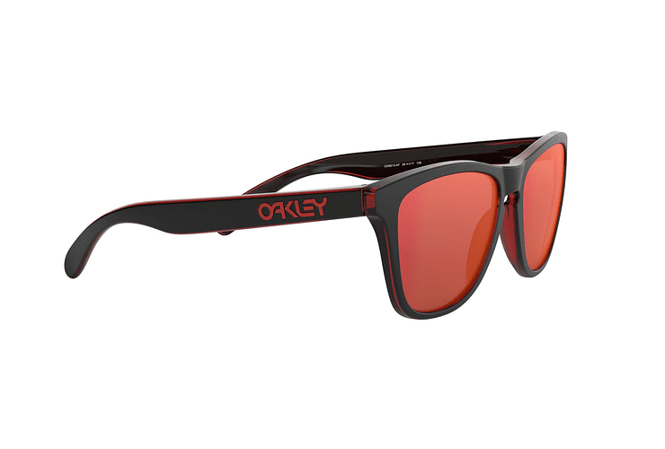 Oakley Frogskins Eclipse Red lente Torch Iridium cod. OO9013-A755 - Image 10