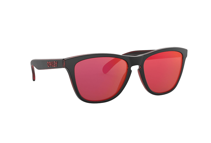 Oakley Frogskins Eclipse Red lente Torch Iridium cod. OO9013-A755 - Image 11
