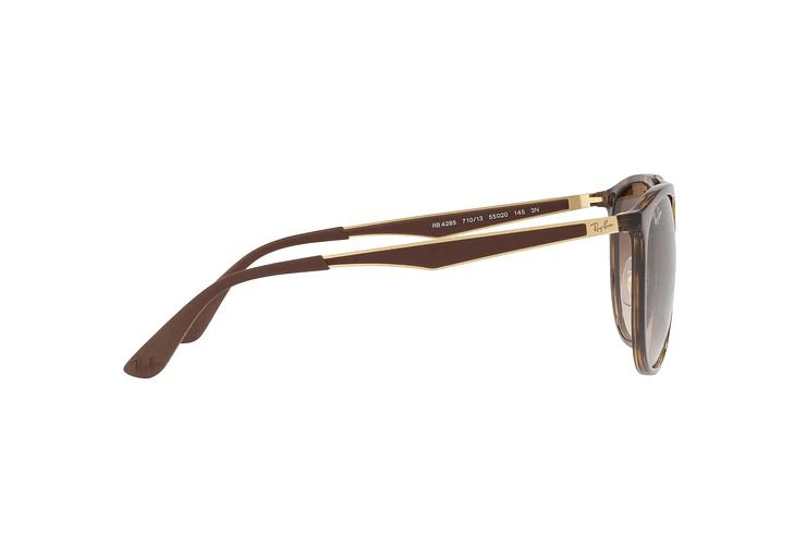 Ray Ban Round RB4285 Light Havana lente Brown Gradient cod. RB4285 710/13 55 - Image 9