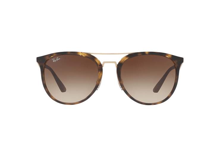 Ray Ban Round RB4285 Light Havana lente Brown Gradient cod. RB4285 710/13 55 - Image 12