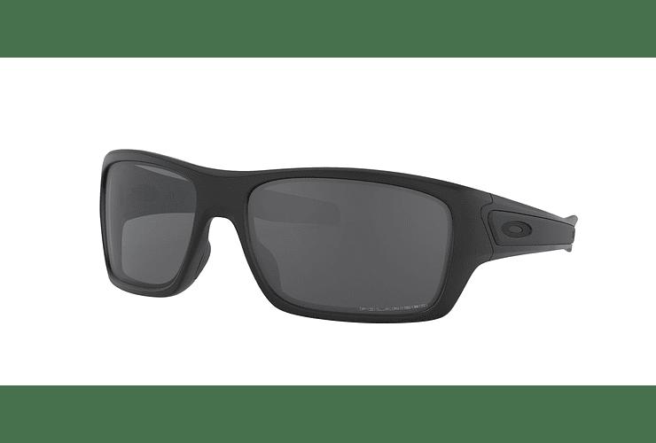 Oakley Turbine Matte Black lente Grey Polarized cod. OO9263-0763 - Image 1